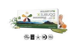 Amway Nutrilite Double X Vitamin 1-Day Supply with 3-Compart