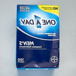 Bayer One A Day Mens Complete Multivitamin 100 Tablets