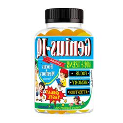 Brain Supplement for Kids with Omega 3-6-9, EPA DHA, Memory,