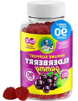 Elderberry Gummies with ZINC and VITAMIN C for Kids and Adul