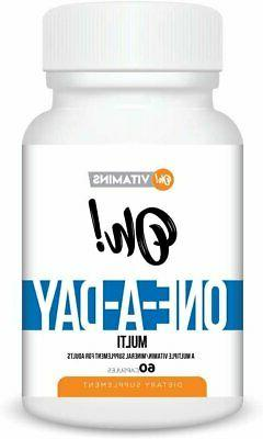 Oh! One-a-Day Multi Vitamin/Mineral Supplements 60 Count