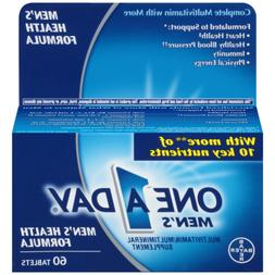 One A Day Mens Health Formula Tablets 60 Ct