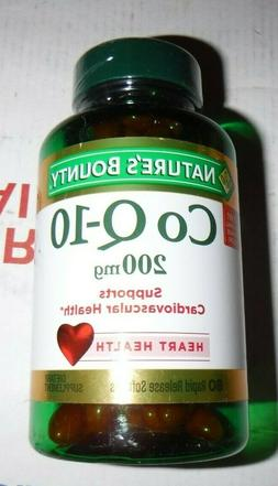 Nature's Bounty CoQ-10  200 mg Cardiovascular Supports - 8