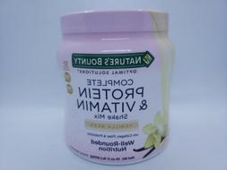 Natures Bounty Optimal Solutions Complete Protein and Vitami