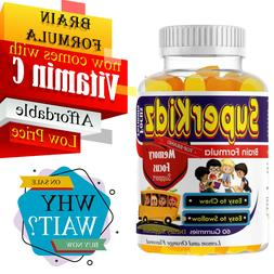 BRAIN SUPPLEMENT AND DHA FOR KIDS, VEGAN OMEGA 3 SUPPLEMENTS