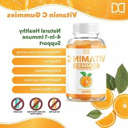 Vitamin C Gummies with Zinc and Echinacea for Immune Support