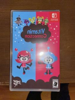 VITAMIN CONNECTION  NINTENDO SWITCH  Sealed Limited Run